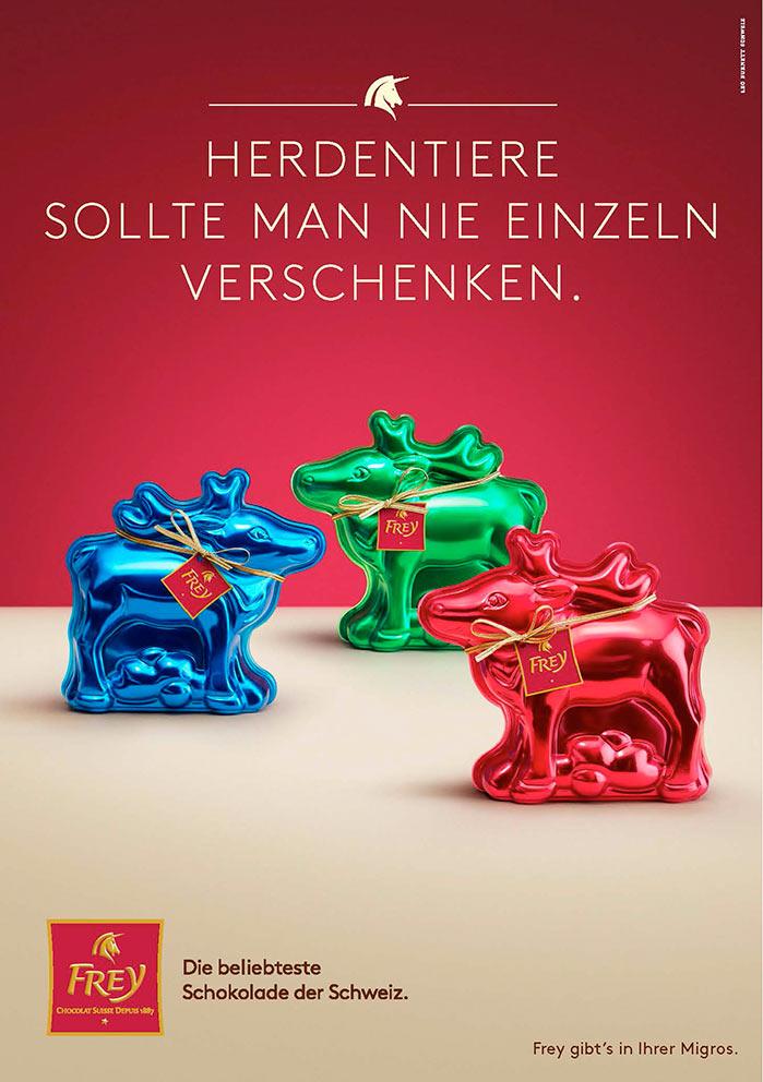 Frey Chocolat reindeer