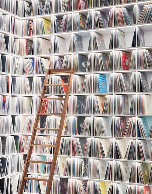 Room for vinyl